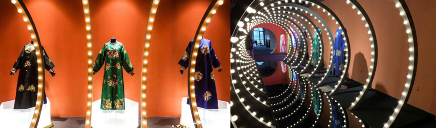 Shanghai: Costume exhibition of the Story of Yanxi Palace.